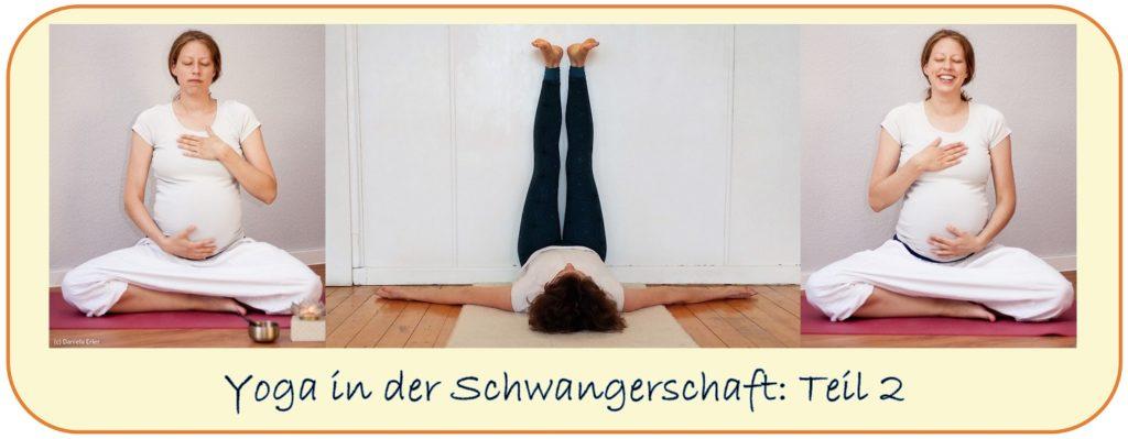 Yoga Schwangerschaft worauf achten 2 3 Trimester