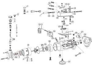 Lucas CAV DPA injection pump transfer pump liner 7139223