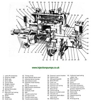 Exploded diagrams  Diesel Injection Pumps