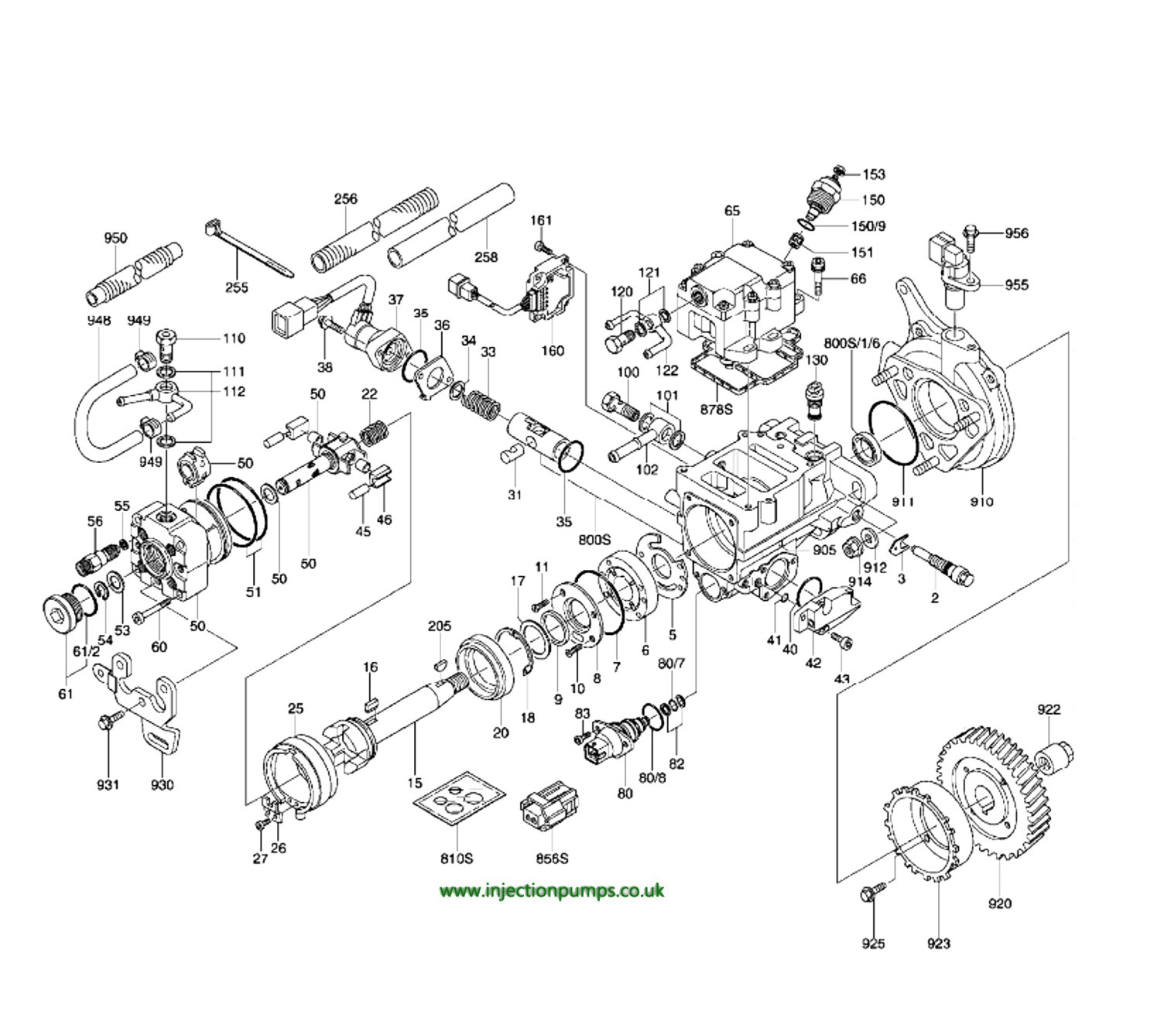 Isuzusel Injection Pump