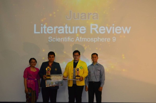 Juara 1,2, dan 3 Literature Review SA9