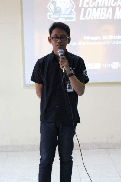 Dwi Laksono Abdulah Ketua Panitia PETIK 2016