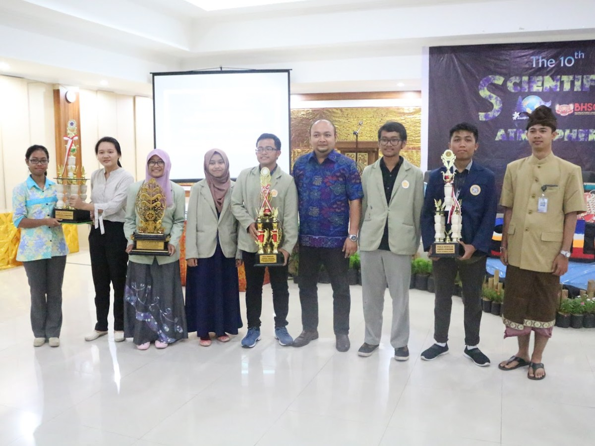 Scientific Atmosphere ke-10 dan Bali Health Student Conference (BHSC)