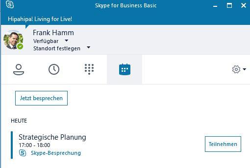 Skype For Business Meeting Mit Outlook Erstellen Und Starten