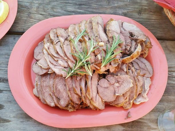 Rosemary Garlic Aussie Lamb Roast