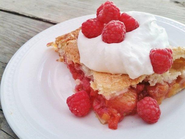 Peach Raspberry Slab Pie (3)