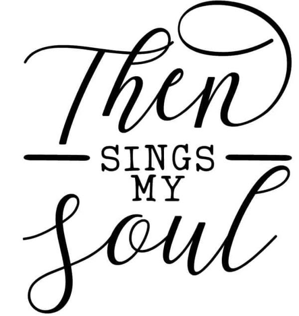 Sings my Soul