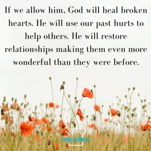 God will heal