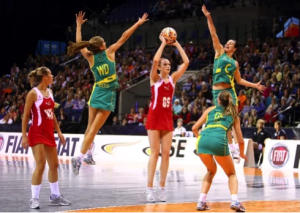 Anterior knee pain in netball