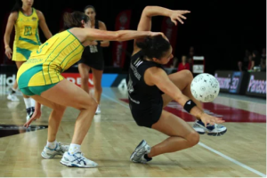 Netball and ankle injury