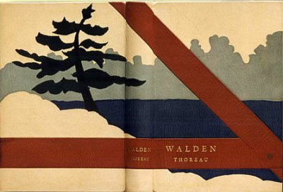 Walden binding by Jack Fitterer and Taff Mace