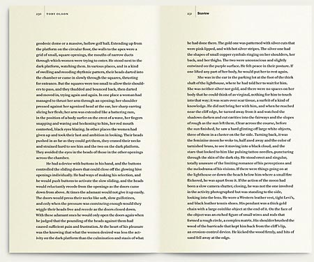 Hawthorne page spread