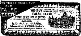 We Buy False Teeth