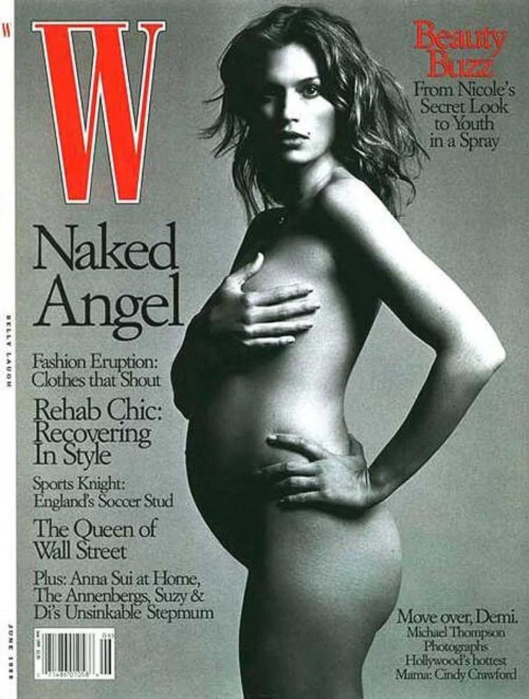 Синди Кроуфорд на обложке журнала W Magazine