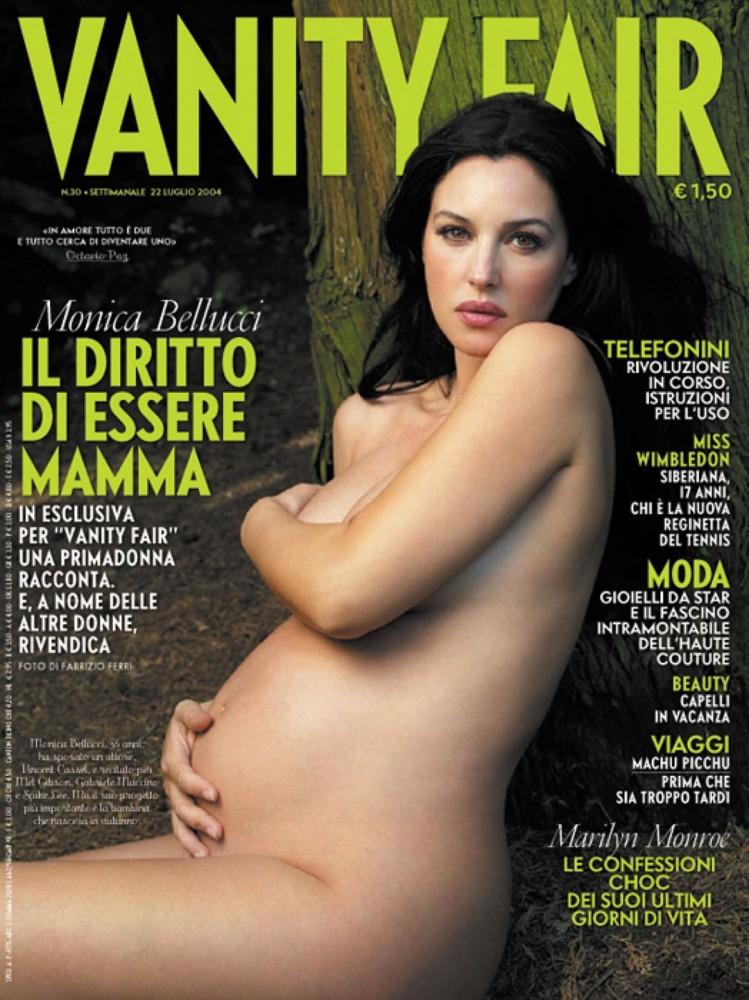 Моника Белуччи снялась обнаженной для итальянского Vanity Fair