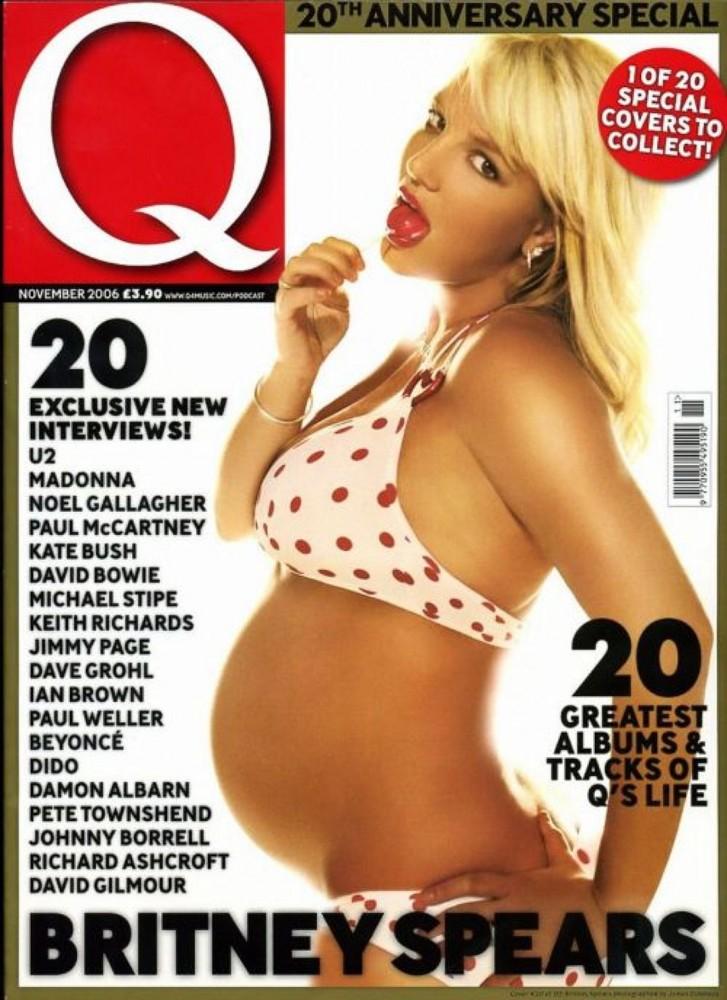 Бритни Спирс на обложке журнала Q Magazine