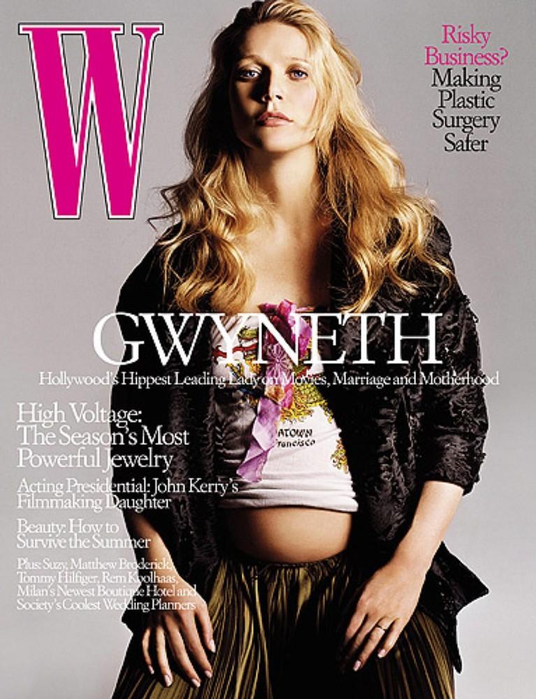 Гвинет Пэлтроу на обложке журнала W Magazine