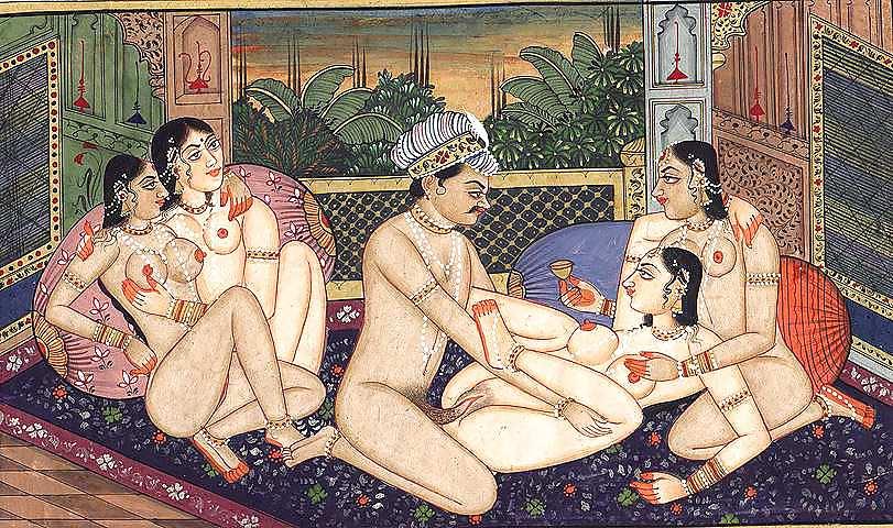 секс картинках в групповой камасутра