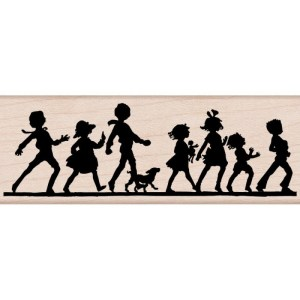 Hero Arts Mounted Rubber Stamps 1.5″X3.75″ It's a Parade