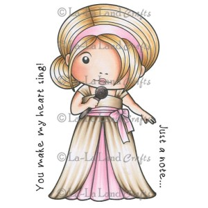 La-La Land Cling Mount Rubber Stamps – Singing Marci