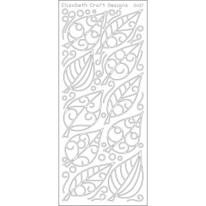 Leaves Peel-Off Stickers – Gold