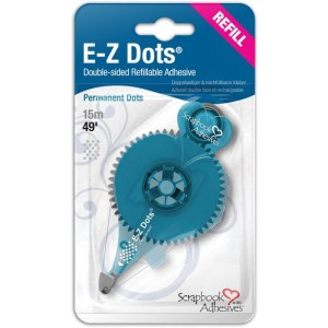 Scrapbook Adhesives E-Z Dots Refillable Dispenser – Permanent, 49′, Use In 12026