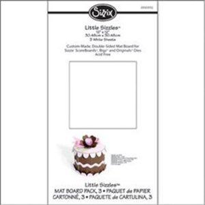 Sizzix Mat Board 6″X13″ 6/Pkg – White