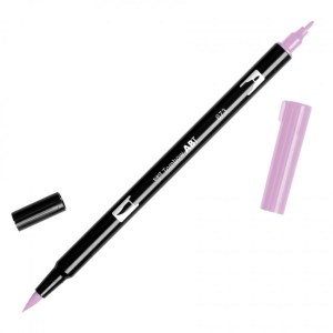 Tombow Dual Brush Marker – 673 Orchid