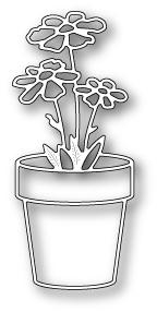 Memory Box Die – Fancy Potted Flower