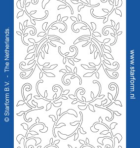 Starform Outline Stickers  1283 – Silver/Gold