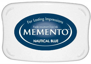 Memento Dye Ink Pad – Nautical Blue