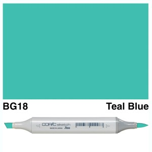 Copic Sketch BG18-Teal Blue