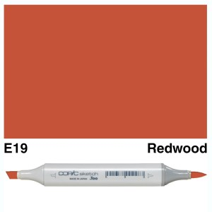 Copic Sketch E19-Redwood