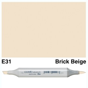 Copic Sketch E31-Brick Beige