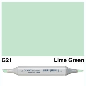 Copic Sketch G21-Lime Green