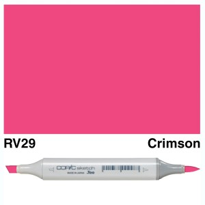 Copic Sketch RV29-Crimson