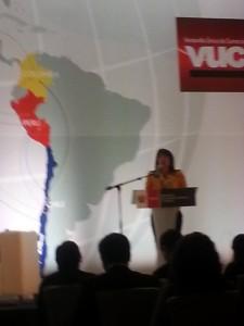 Inka Millenium, Vuce  Ministra Magaly Silva