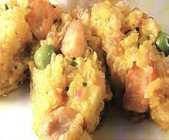 Quinoa con anchoveta