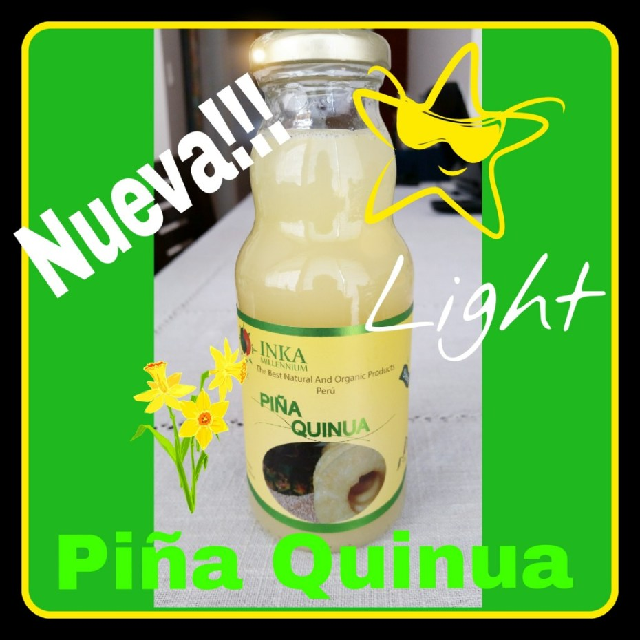 Piña con Quinua Light