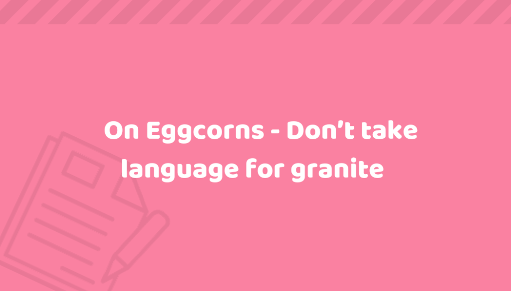 eggcorns
