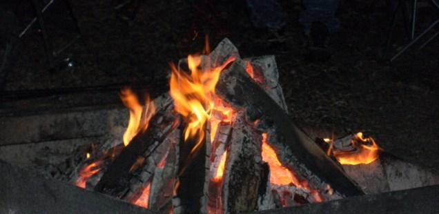 Fall Camping, Full Moon Style