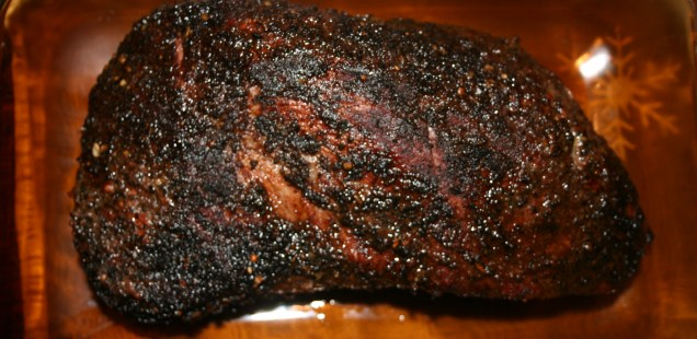 Coffee And Cocoa Rubbed TriTip