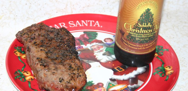 Keep the Cookies For Yourself, Santa's Getting a Steak This Year