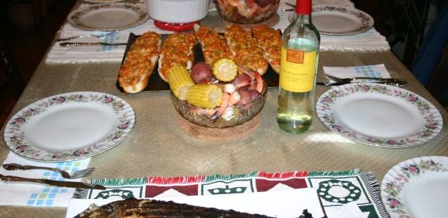A Christmas Seafood Feast