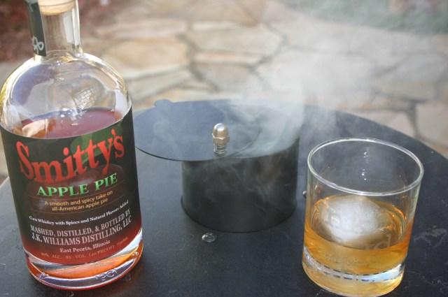 Moonshine on the smoker