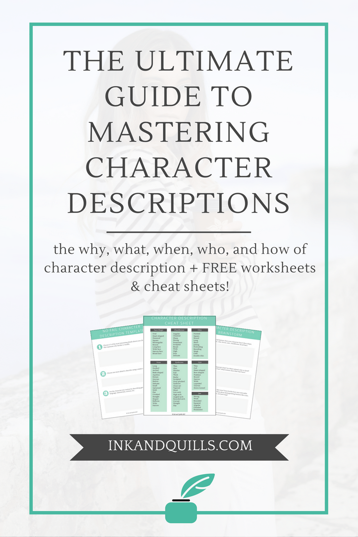 8cb0dd44a Writing vivid character descriptions is a struggle many writers face. If  you're tired