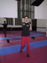 Instrutor de Jabbing Jorge Cardoso