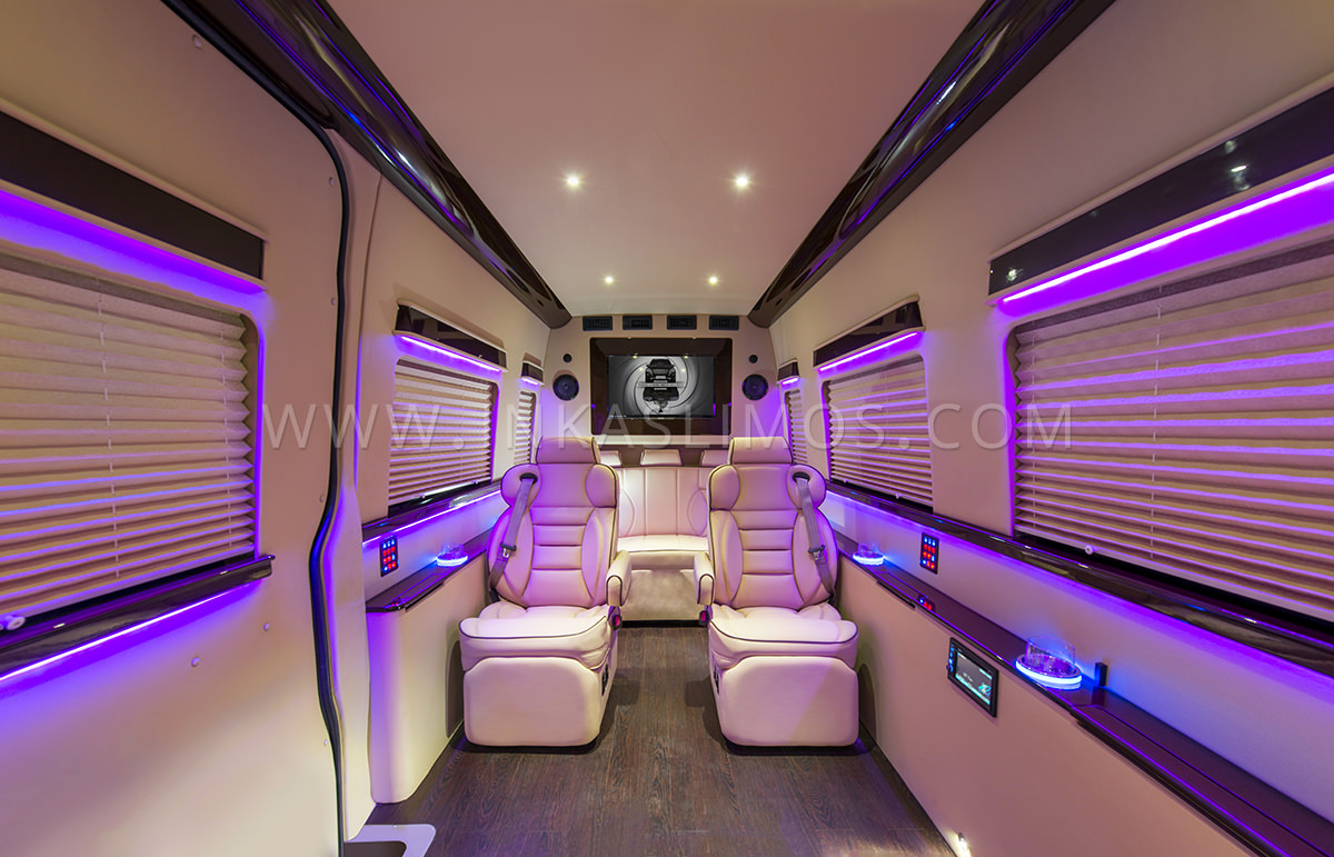 Mercedes Benz Sprinter VIP Limousine INKAS Professional