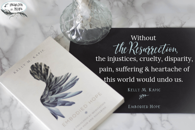 Embodied Hope: Exploring physical suffering through the lens of a Biblical Worldview. #BiblicalWorldview #EmbodiedHope #ChristianLiving #ChristianHope