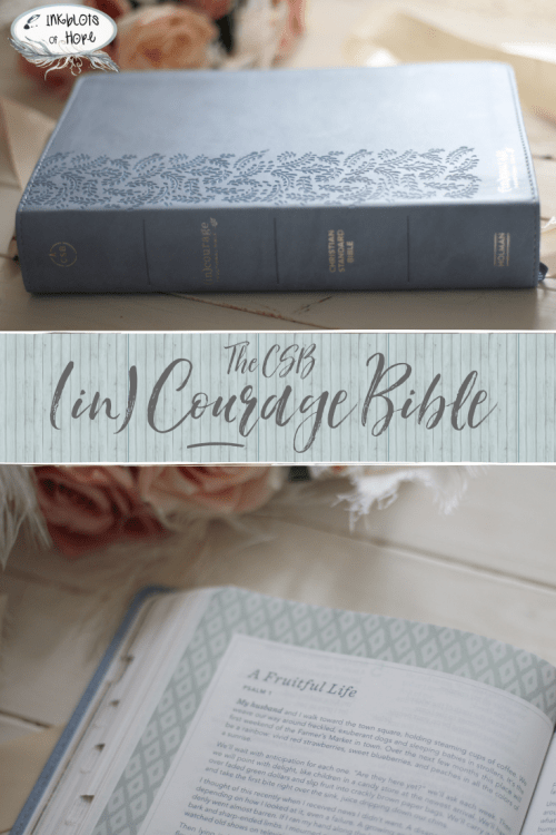 The CSB (in)courage Bible is all about reading devotionals that will cultivate your growth with Christ. But is it a good fit for you? Check this post to find out. #IncourageBible #WomensBible #CSB #BibleStudy #BibleReview